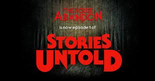 the house abandon now part of u0027stories untold u0027 by jonnocode