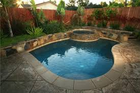 Backyard Pool Ideas by Small Backyard Inground Pool Design Completure Co
