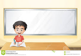 free blank writing paper a boy writing on a paper with a blank board royalty free stock a boy writing on a paper with a blank board royalty free stock photos