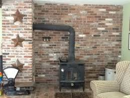 Fireplace Pipe For Wood Burn by Need Help Hiding Wood Stove Pipe Looks Terrible