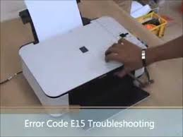 cara reset printer canon mp258 error e13 printer error code e15 canon mp258 youtube