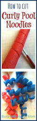 Pool Noodle Decorations How To Cut Curly Pool Noodles Pool Noodles Noodle And Homecoming