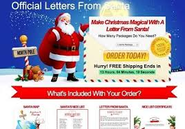 official letters from santa beware the santa claus letter scam