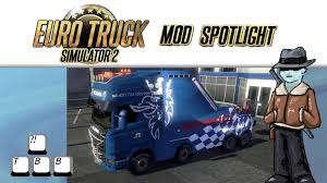 mod car game euro truck simulator 2 euro truck simulator 2 mod spotlight scania tow truck youtube