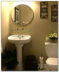 bathroom with pedestal sink ideas