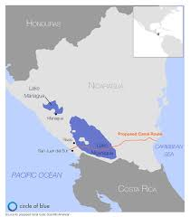Nicaragua On World Map by Nicaragua Canal Environmental Assessment Criticized As