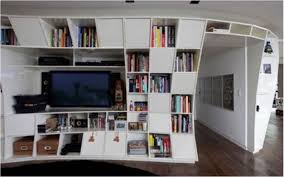 cupboard shelf design interior amazing orange modern wall