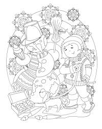 christmas coloring irina osipova christmas easter
