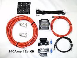 140 amp 12 volt split charge relay voltage sensing altec m power
