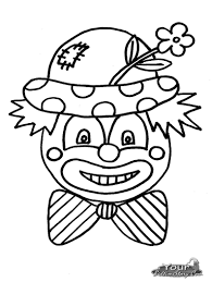 clown coloring pages chuckbutt com