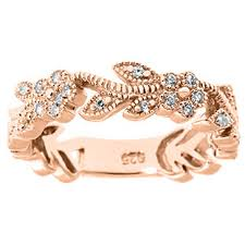 diamond flower bracelet images Diamond flower rings rose gold 28 ct tw diamond floral ring jpg