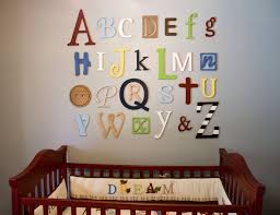 Baby Room Decorations How To Decorate Wooden Letters For Baby Room Design Ideas U0026 Decors
