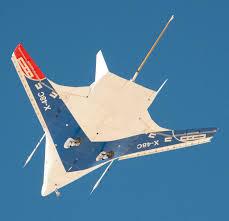 blended wing body aircraft lifts off nasa