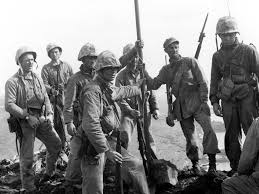 Soldiers Lifting Flag Iwo Jima New Mystery Arises From Iconic Image Omaha Com Omaha