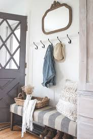 impressive entryway storage with hooks contemporary entry