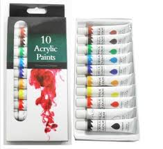 water color acrylic color easy paint buy acrylic paint color