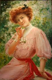 pretty in pink emile vernon french 1872 1919 for sale