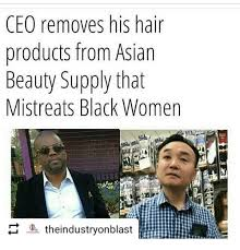 Asian Lady Aging Meme - ceo removes his hair products from asian beauty supply that