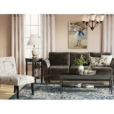 Curved Arm Sofa Charlton Home Curved Arm Sofa Walmart
