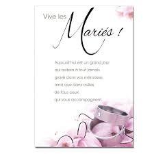 carte mariage cartes mots du bonheur mariage bagues une carte pour toi