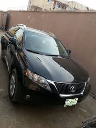 lexus rx 350 price nigeria registered lexus rx350 2010 n4 380 000 00 autos nigeria