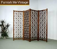 Vintage Room Divider Alluring Vintage Room Divider Screen With Fantastic Vintage Room