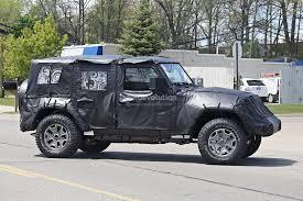 jeep wrangler pickup 2018 jeep wrangler diesel pickup redesign unlimited jl news