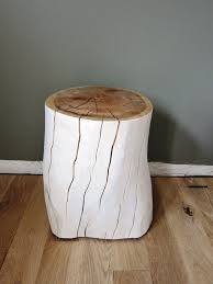 Stump Chair Items Similar To Reserved For Jim White Oak Tree Stump Stool Or