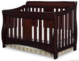 Delta Canton 4 In 1 Convertible Crib Black 6830 607 Oberon 4 In 1 Black Cherry Espresso Hi Icon Nursery
