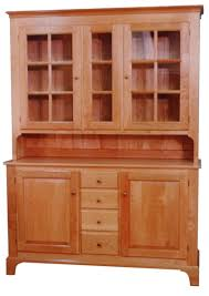 Natural Cherry Shaker Kitchen Cabinets Buy A Handmade Buffet Cupboard Shaker Style In Natural Cherry