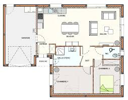 plan de maison avec cuisine ouverte plan maison cuisine ouverte galerie avec plan cuisine ouverte des