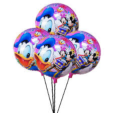 birthday balloon delivery for kids donald duck printed balloon for kid s birthday send birthday