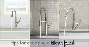 choosing a kitchen faucet christinas adventures
