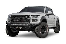 Ford Raptor Truck Black - 2017 ford raptor stealth fighter winch front bumper