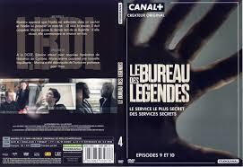 le bureau originale jaquette dvd de le bureau des légendes saison 1 dvd 4 cinéma