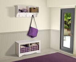 Entryway Furniture Storage Prepac Sonoma White Twin Cubbie Bench Beyond Stores