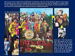 sargeant peppers album cover the lennon prophecy thelennonprophecy sgt peppers album