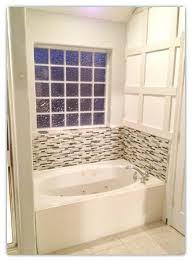 backsplash tile ideas for bathroom white oval bathtub with mosaic