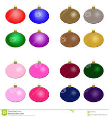 christmas ornaments multiple sets royalty free stock photo