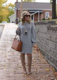 Stylin In St Louis Sweater Dress U2026