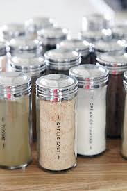 iheart organizing diy spice jar labels