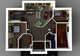 interior design plan made in sketchup download skp file