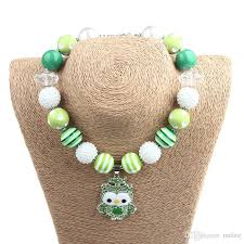 s day necklace baby girl st s day necklace toddler lime green with