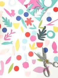 paper wildflower wreath u2014 art camp