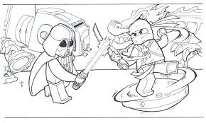 ninjango coloring pages