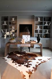 Where To Buy Cowhide Rugs 23 Elegant Masculine Home Office Design Ideas Office Spaces