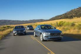 2017 volvo s90 vs 2017 cadillac ct6 vs 2017 mercedes e300