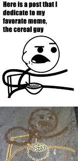 Cereal Girl Meme - cereal guy