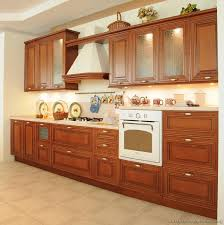 Kitchen Wooden Cabinets Kitchen Kitchen Cabinets Traditional Medium Wood Cherry Color