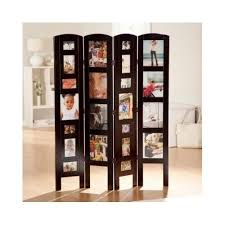 picture frame photo album room divider decoration wooden stand